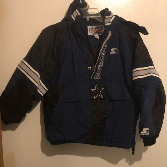 buy popular 0ba50 31339 Dallas cowboy pullover coat boys medium